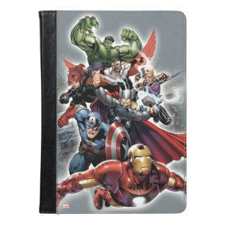 Avengers Attack Graphic iPad Air Case