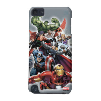 Avengers Attack Graphic iPod Touch (5th Generation) Cover