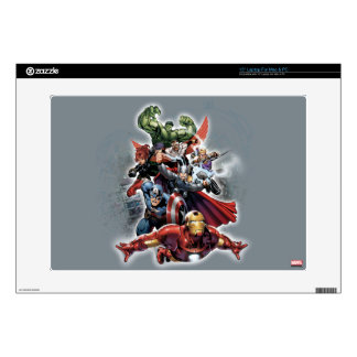 Avengers Attack Graphic Laptop Decal