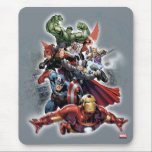"Avengers Attack Graphic Mouse Pad<br><div class=""desc"">Avengers Assemble 