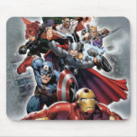 Avengers Attack Graphic Mouse Pads