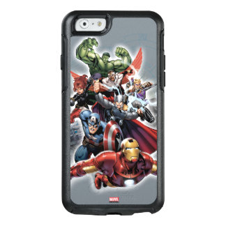 Avengers Attack Graphic OtterBox iPhone 6/6s Case