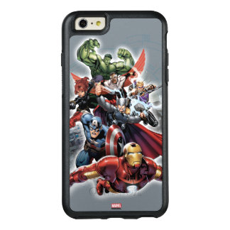 Avengers Attack Graphic OtterBox iPhone 6/6s Plus Case