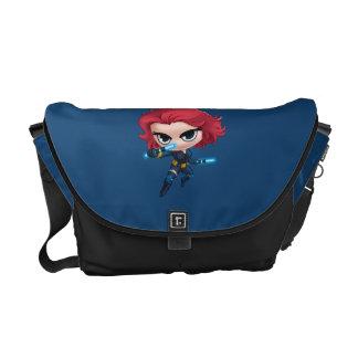 Avengers | Black Widow Stylized Art Courier Bag