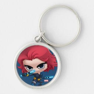 Avengers | Black Widow Stylized Art Keychain