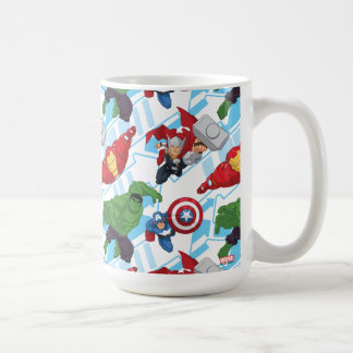 Avengers Character Action Kids Pattern Coffee Mug