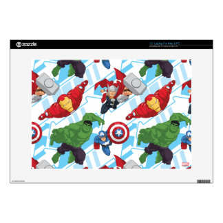 """Avengers Character Action Kids Pattern Decal For 15"""" Laptop"""
