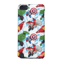 Avengers Character Action Kids Pattern iPod Touch 5G Case