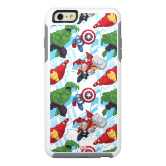 Avengers Character Action Kids Pattern OtterBox iPhone 6/6s Plus Case
