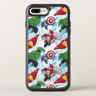 Avengers Character Action Kids Pattern OtterBox Symmetry iPhone 8 Plus/7 Plus Case