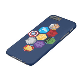 Avengers Character Faces & Logos Badge Barely There iPhone 6 Case