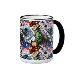 Avengers Character Pattern Coffee Mugs