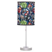 Avengers Classics | Avengers Hexagonal Pattern Table Lamp