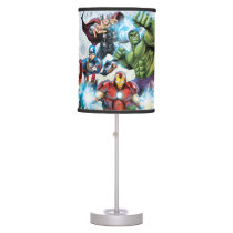 Avengers Classics | Avengers Prepared To Attack Table Lamp