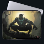 "Avengers Classics | Black Panther In Tree Computer Sleeve<br><div class=""desc"">Check out Black Panther crouched on a tree,  deep in the jungle of Wakanda.</div>"