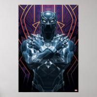 Avengers Classics   Black Panther Salute Poster