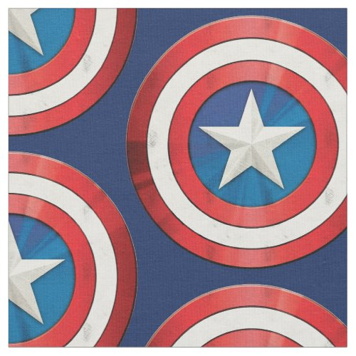 Avengers Classics  Captain America Brushed Shield Fabric