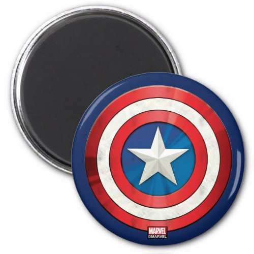 Avengers Classics   Captain America Brushed Shield Magnet