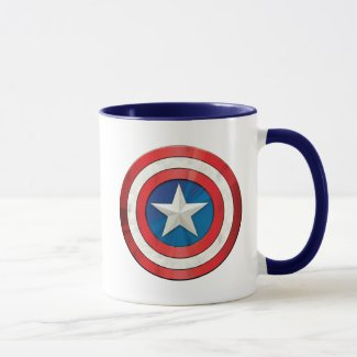 Avengers Classics | Captain America Brushed Shield Mug