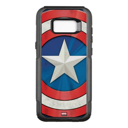 Avengers Classics   Captain America Brushed Shield Phone Case