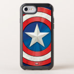 "Avengers Classics | Captain America Brushed Shield Speck iPhone Case<br><div class=""desc"">Check out this brushed metal textured graphic of Captain America&#39;s shield.</div>"