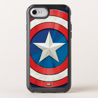 Avengers Classics | Captain America Brushed Shield Speck iPhone Case