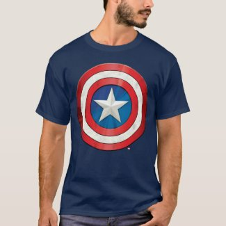 Avengers Classics | Captain America Brushed Shield T-Shirt