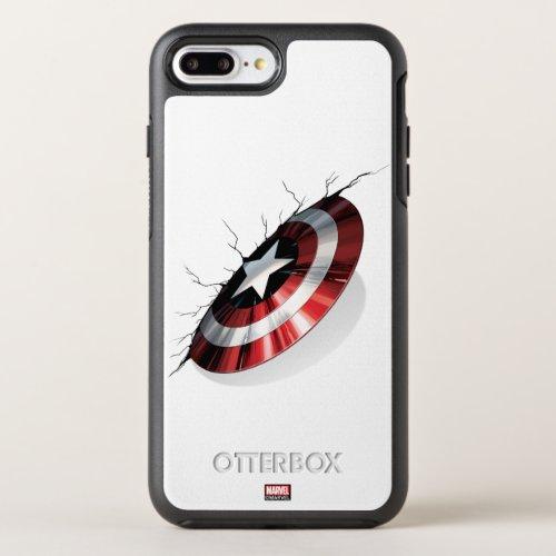 Avengers Classics   Captain America Shield Struck Phone Case