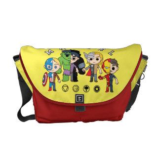 Avengers Classics | Dual Identity Messenger Bag