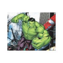 Avengers Classics | Hulk Charge Canvas Print