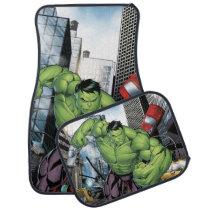 Avengers Classics | Hulk Charge Car Floor Mat