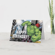 Avengers Classics   Hulk Charge Card