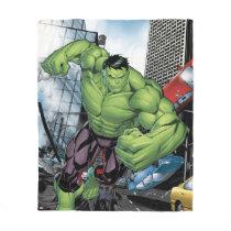 Avengers Classics | Hulk Charge Fleece Blanket
