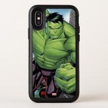 Avengers Classics | Hulk Charge OtterBox Symmetry iPhone X Case