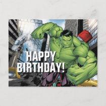 Avengers Classics   Hulk Charge Postcard