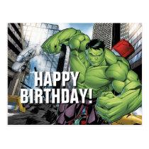 Avengers Classics | Hulk Charge Postcard