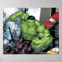 Avengers Classics | Hulk Charge Poster