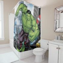 Avengers Classics | Hulk Charge Shower Curtain