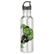 Avengers Classics | Hulk Charge Stainless Steel Water Bottle