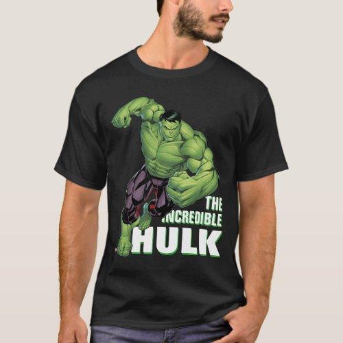 Avengers Classics  Hulk Charge T_Shirt
