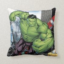 Avengers Classics | Hulk Charge Throw Pillow