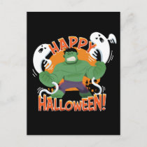 "Avengers Classics | Hulk ""Happy Halloween"" Postcard"