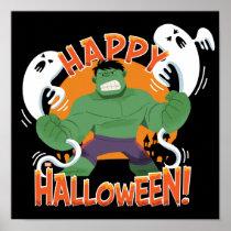 "Avengers Classics | Hulk ""Happy Halloween"" Poster"