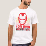 "Avengers Classics   Iron Man ""Armor Up"" Art T-Shirt"