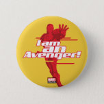 "Avengers Classics | Iron Man ""I Am"" Graphic Button"