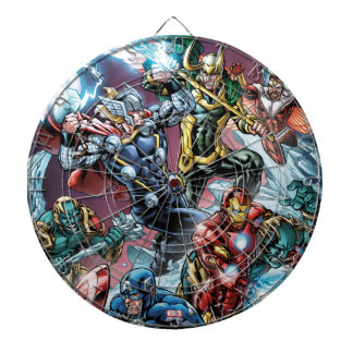 Avengers Classics | Loki And Frost Giants Dart Boards