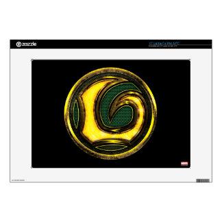 Avengers Classics   Loki Symbol Decals For Laptops
