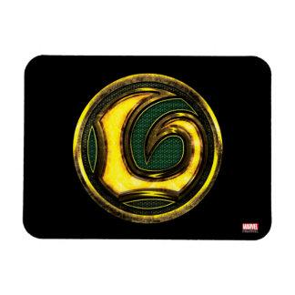 Avengers Classics | Loki Symbol Rectangular Photo Magnet