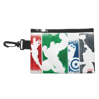 Avengers Classics   Paint Swatch Silhouettes Accessory Bag