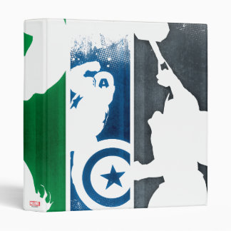 Avengers Classics | Paint Swatch Silhouettes Binder